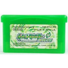 【中古】GBA ポケットモンスター リーフグリーン 緑 ソフトのみ ゲームボーイ アドバンス