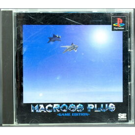 【中古】PS マクロスプラス ゲームエディション ケース・説明書付 プレステ ソフト