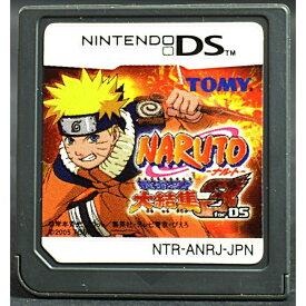 【中古】 DS NARUTO-ナルト-最強忍者大結集3 for DS ソフトのみ NINTENDO DS 中古 ニンテンドー