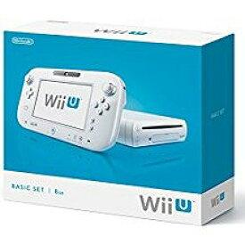 【訳あり】【送料無料】【中古】Wii U ベーシックセット 任天堂 シロ 白 本体 すぐに遊べるセット