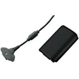 【送料無料】【中古】Xbox 360 プレイ&チャージ キット バッテリー ブラック