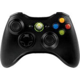 【送料無料】【中古】Xbox 360 ワイヤレス コントローラー (リキッド ブラック) マイクロソフト