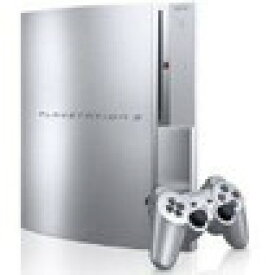 【送料無料】【中古】PS3 PlayStation 3 (80GB) サテンシルバー (CECHL00) 本体 プレイステーション3(箱説付き)