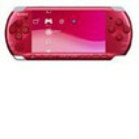 【送料無料】【中古】PSP「プレイステーション・ポータブル」 ラディアント・レッド (PSP-3000RR) 本体 ソニー PSP3000(箱説付き)