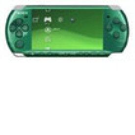 【送料無料】【中古】PSP「プレイステーション・ポータブル」 スピリティッド・グリーン (PSP-3000SG) 本体 ソニー PSP3000
