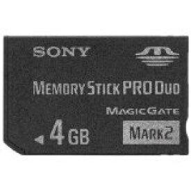 【送料無料】【中古】PSP SONY メモリースティック Pro Duo Mark2 4GB MS-MT4G 本体 ソニー PSP