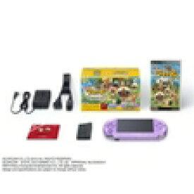 【送料無料】【中古】PSP 「プレイステーション・ポータブル」 本体 はじめようアイルー村パック (本体同梱版) PSP3000(箱説付き)