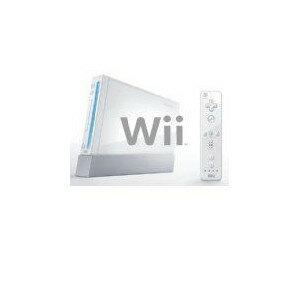 【欠品あり】【送料無料】【中古】Wii [ウィー] 本体 シロ 任天堂(ヌンチャクなし)セット