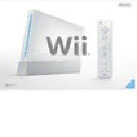 【送料無料】【中古】Wii本体 (シロ) (「Wiiリモコンジャケット」同梱) (RVL-S-WD) すぐに遊べるセット(箱説付き)