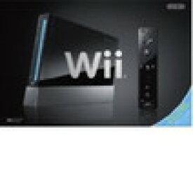 【送料無料】【中古】Wii本体 (クロ) (「Wiiリモコンプラス」同梱) (RVL-S-KAAH)