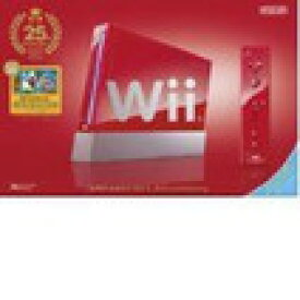 【送料無料】【中古】Wii [ウィー] Wii本体 (スーパーマリオ25周年仕様) (「Wiiリモコンプラス」同梱) (RVL-S-RAAV)(箱説付き)