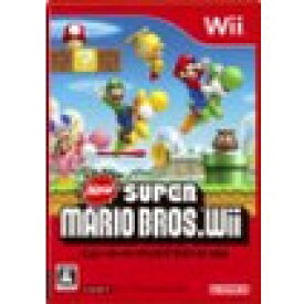 【送料無料】【中古】Wii New スーパーマリオブラザーズ Wii ソフト