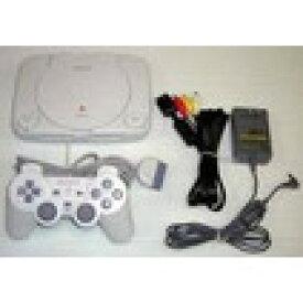 【送料無料】【中古】PS プレイステーション PlayStation (PSone) プレイステーション本体 プレステ 最終形 コントローラー×2個セット