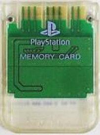 【送料無料】【中古】PS メモリーカード クリア プレイステーション用 本体 プレステ