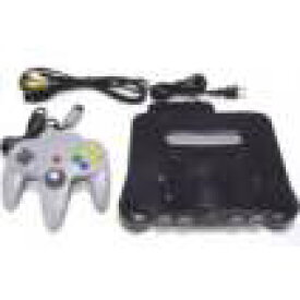 【送料無料】【中古】N64 任天堂64 NINTENDO64 本体 (コントローラー、ケーブル付き) すぐに遊べるセット コントローラー×2個セット