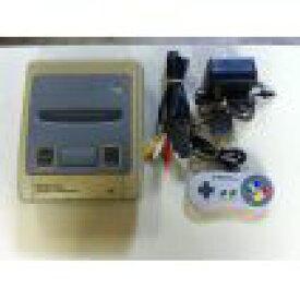 【送料無料】【中古】SFC スーパーファミコン 本体 (コントローラー、ケーブル付き) コントローラー×2個セット