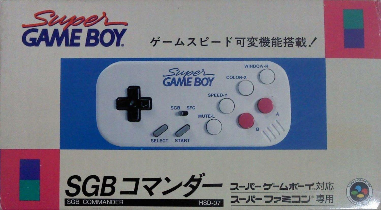 【送料無料】【中古】SFC コントローラー SGBコマンダー スーパーゲームボーイ用 コントローラー