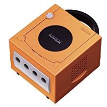 【送料無料】【中古】GC ゲームキューブ NINTENDO GAMECUBE 本体 オレンジ (本体のみ、ケーブル、コントローラーなし)