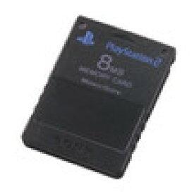 【送料無料】【中古】PS2 プレイステーション2 PlayStation 2専用メモリーカード(8MB) 本体 ソニー