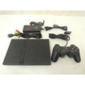 【送料無料】【中古】PS2 PlayStation2 ブラック (SCPH-70000) 本体 プレイステーション2 プレステ2 (箱説付き)