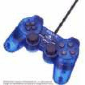 【送料無料】【中古】PS2 プレイステーション2 アナログコントローラー (DUALSHOCK 2 ) オーシャン・ブルー デュアルショック