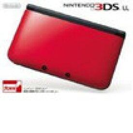 【送料無料】【中古】3DS ニンテンドー3DS LL レッドXブラック 本体 任天堂(箱説付き)