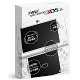 【送料無料】【中古】3DS Newニンテンドー3DS LL パールホワイト(箱説付き)
