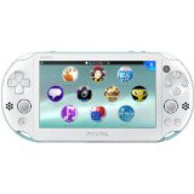 【送料無料】【中古】PlayStation Vita Wi-Fiモデル ライトブルー/ホワイト (PCH-2000ZA14) 本体 ヴィータ(箱説付き)