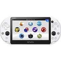 【ジャンク】【送料無料】【中古】PlayStation Vita Wi-Fiモデル グレイシャー・ホワイト(PCH-2000ZA22) 本体
