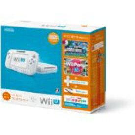 【訳あり】【送料無料】【中古】Wii U すぐに遊べるファミリープレミアムセット(シロ) 白 任天堂 本体(マリオU、パーティーU内蔵)