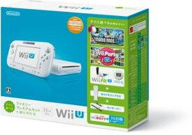 【送料無料】【中古】Wii U すぐに遊べるファミリープレミアムセット+Wii Fit U(シロ)(バランスWiiボード非同梱)(箱説付き)