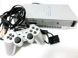 【送料無料】【中古】PS2 PlayStation2 プレイステーション2 サテンシルバー (SCPH-50000 TSS) 本体 プレステ2
