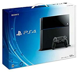 【送料無料】【中古】PS4 PlayStation 4 ジェット・ブラック 500GB (CUH-1100AB01) プレイステーション4 プレステ4