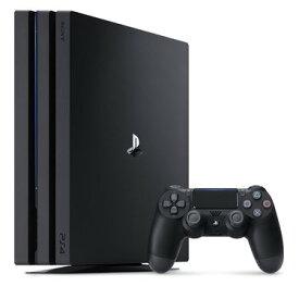 【送料無料】【中古】PS4 PlayStation 4 Pro ジェット・ブラック 1TB (CUH-7100BB01) プレイステーション4 本体(箱説付き)