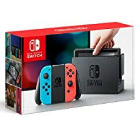 【送料無料】【中古】Nintendo Switch Joy-Con (L) ネオンブルー/ (R) ネオンレッド ニンテンドースイッチ(箱説付き)