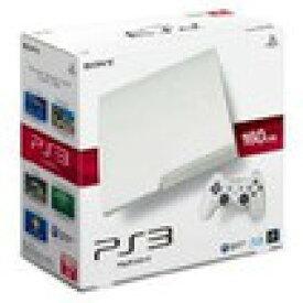 【送料無料】【中古】PS3 PlayStation 3 (160GB) クラシック・ホワイト (CECH-3000A LW) 本体 プレイステーション3(箱説付き)
