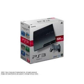 【送料無料】【中古】PS3 PlayStation 3 (320GB) チャコール・ブラック (CECH-2500B) 本体 プレイステーション3(箱説付き)