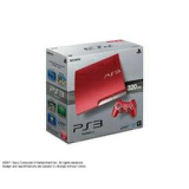 【送料無料】【中古】PS3 PlayStation 3 (320GB) スカーレット・レッド (CECH-3000BSR) 本体(箱付き)