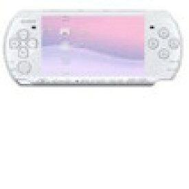 【送料無料】【中古】PSP「プレイステーション・ポータブル」 パール・ホワイト(PSP-3000PW) 本体 PSP3000(箱説付き)