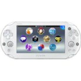 【送料無料】【中古】PlayStation Vita Wi-Fiモデル ホワイト (PCH-2000ZA12) 本体 プレイステーション ヴィータ
