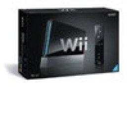 【送料無料】【中古】Wii本体 (クロ) (「Wiiリモコンジャケット」同梱) (RVL-S-KJ)