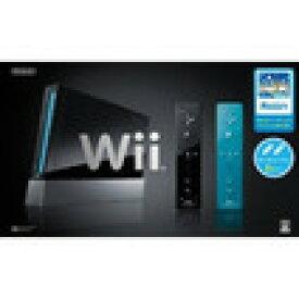 【送料無料】【中古】Wii本体 (クロ) Wiiリモコンプラス2個、Wiiスポーツリゾート同梱
