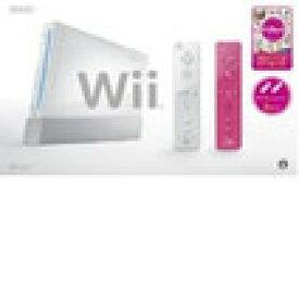 【送料無料】【中古】Wii本体 (シロ) Wiiリモコンプラス2個、Wiiパーティ同梱(箱説付き)
