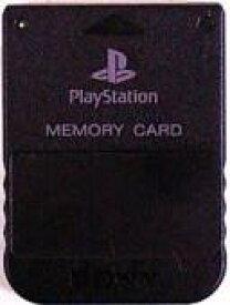 【送料無料】【中古】PS メモリーカード ブラック プレイステーション用 本体 プレステ