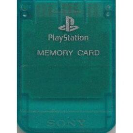 【送料無料】【中古】PS メモリーカード エメラルド プレイステーション用 本体 プレステ