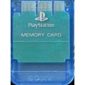 【送料無料】【新品】PS メモリーカード アイランド・ブルー プレイステーション用 本体 プレステ