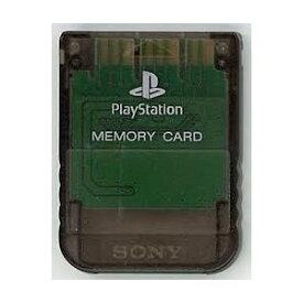 【送料無料】【中古】PS メモリーカード スモークグレー プレイステーション用 本体 プレステ