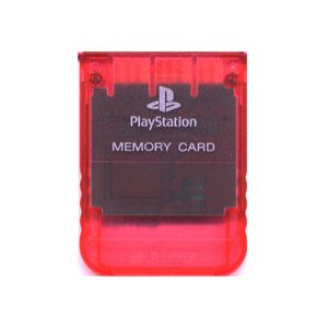 【送料無料】【中古】PS メモリーカード チェリーレッド プレイステーション用 本体 プレステ