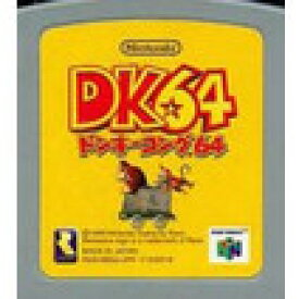 【送料無料】【中古】N64 任天堂64 ドンキーコング64