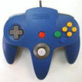 【送料無料】【中古】N64 任天堂64 コントローラーBros.ブルー N64 ブロス